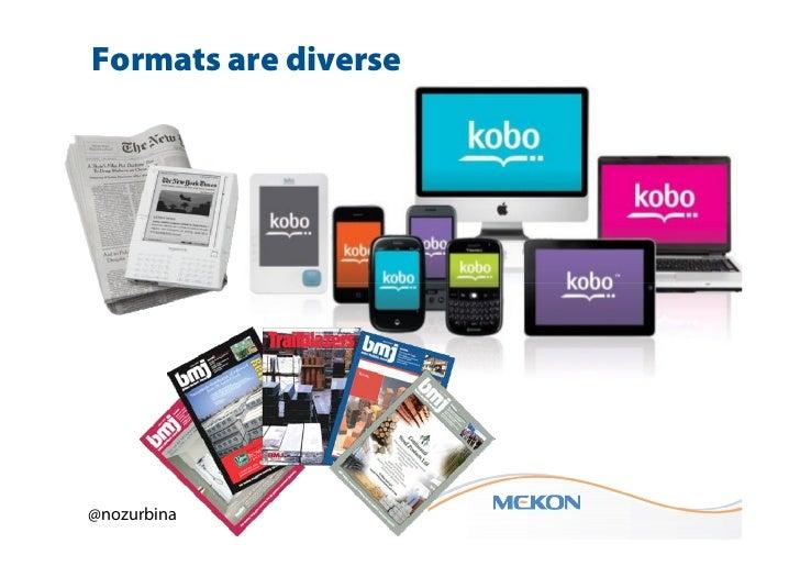 Formats are diverse@nozurbina