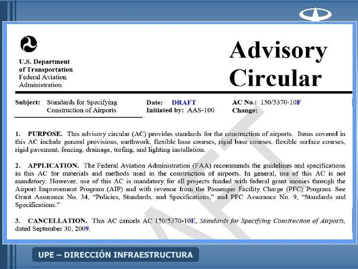 Upe Planificacion Lado Aire Modulo Introductorio Cb Advisory Circulars Acs Federal Aviation