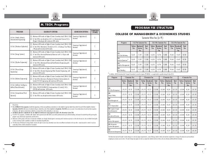 UPES information bulletin