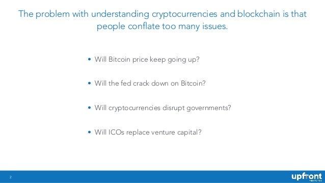 Upfront Ventures blockchain and crypto deck Slide 2