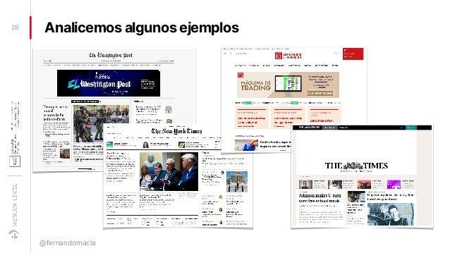 Analicemos algunos ejemplos28 @fernandomacia
