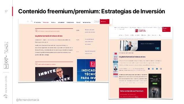 Contenido freemium/premium: Estrategias de Inversión37 @fernandomacia