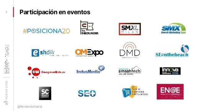 Participación en eventos4 @fernandomacia