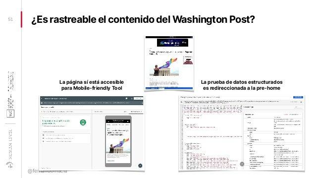¿Es rastreable el contenido del Washington Post?51 @fernandomacia La página sí está accesible para Mobile-friendly Tool La...