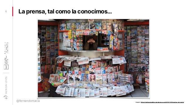 La prensa,tal como la conocimos…6 @fernandomacia Imagen: https://antinomiaslibro.wordpress.com/2013/11/21/puntos-de-venta/