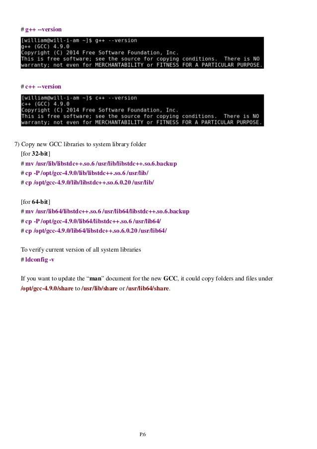 Upgrade GCC & Install Qt 5 4 on CentOS 6 5
