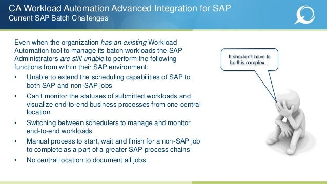 Ca workload automation user Manual