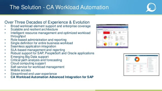 Upgrade and Unleash the Power of CA Workload Automation