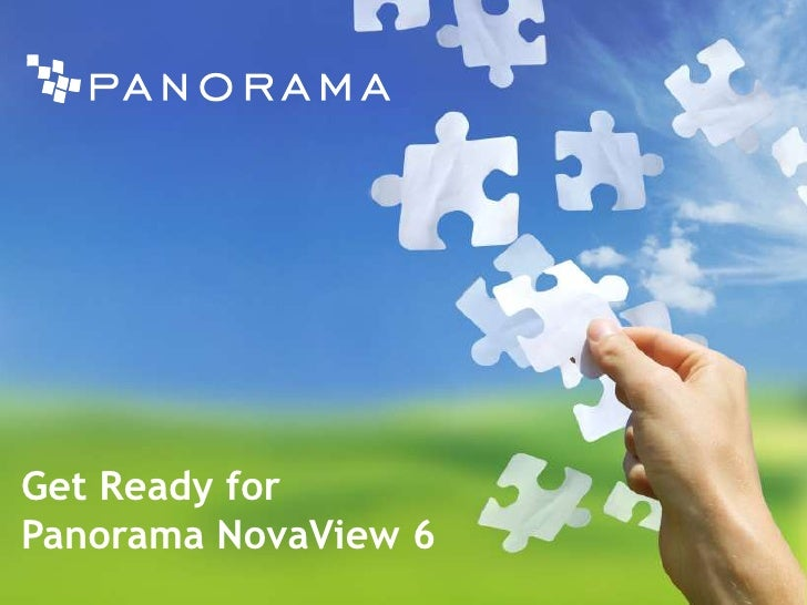 Get Ready for Panorama NovaView 6<br />
