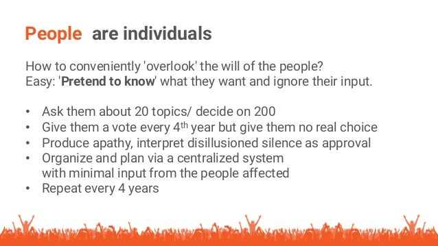 Upgrading Democracy, Slide Share vers4 Slide 3