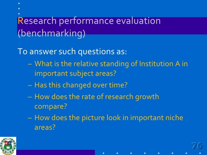 Give weight to research performance as with teaching to encourage more faculty engaging in research.