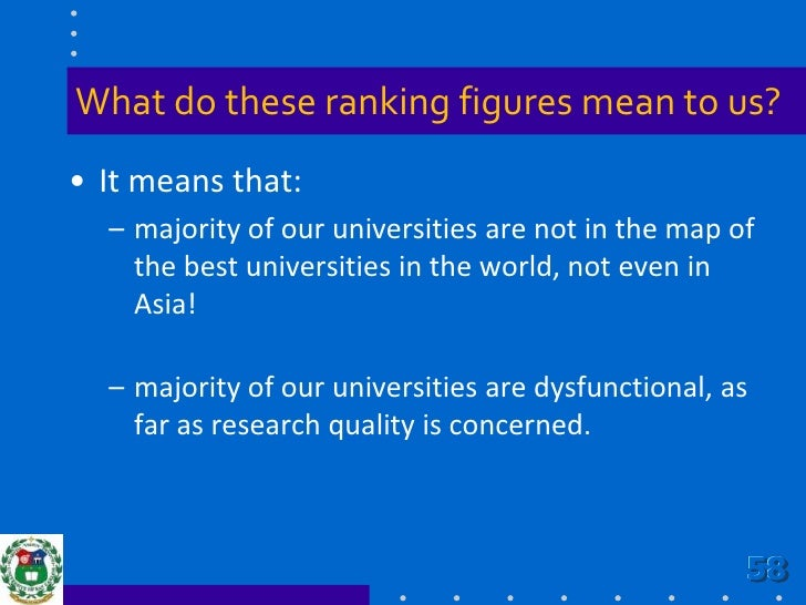 THE-QS World University Rankings<br />Overall ranking<br />Asian ranking<br />Subject area rankings:<br />Arts & humanitie...