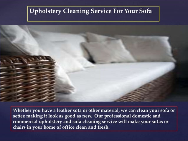100 Leather Sofa Cleaning Service