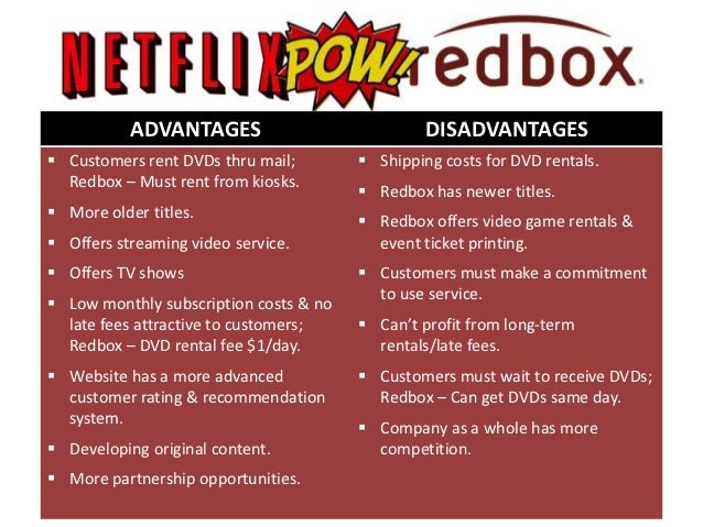 netflix case analysis essays Netflix offers a variety of product services to its customers the company offers  traditional dvd rental by mail, instant streaming of dvd content through home.