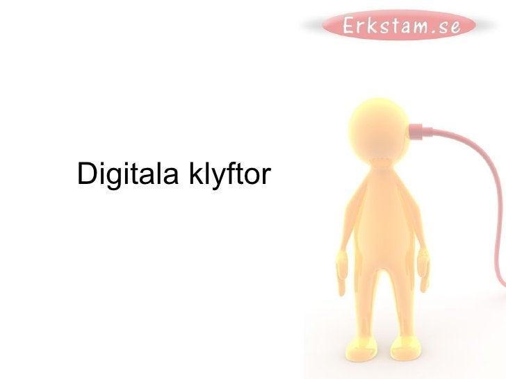Digitala klyftor