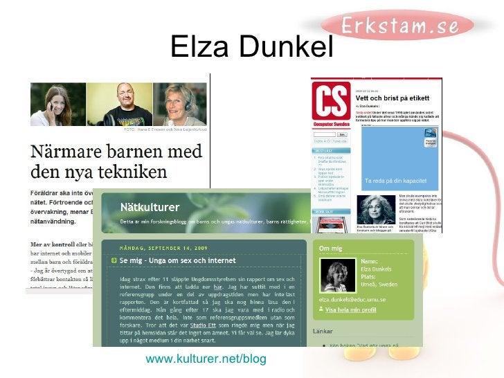 Elza Dunkel www.kulturer.net/blog