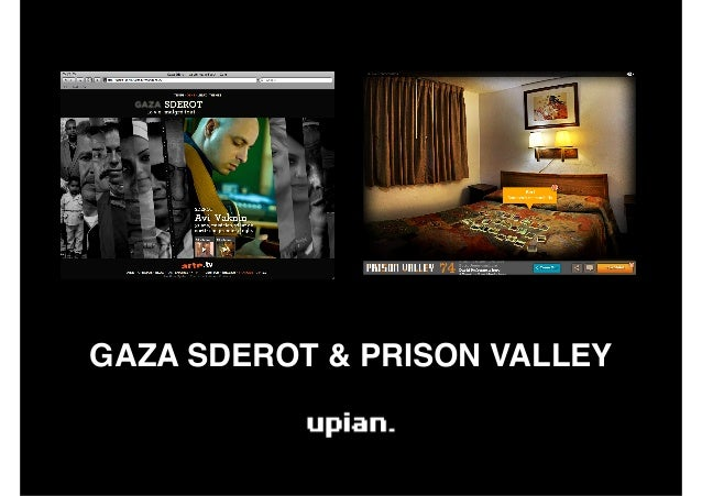 GAZA SDEROT & PRISON VALLEY