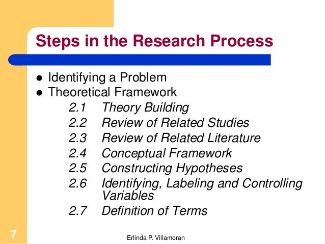 sampling procedures in thesis