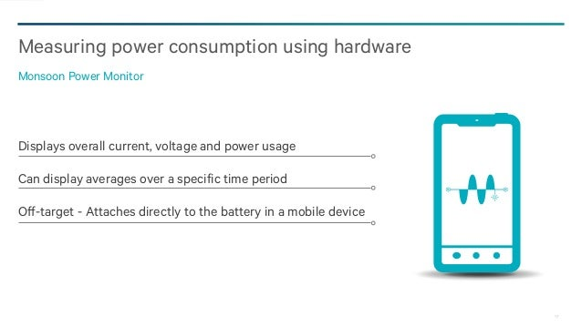 Monsoon Power Monitor : Hh qualcomm how to minimize the power consumption of your app