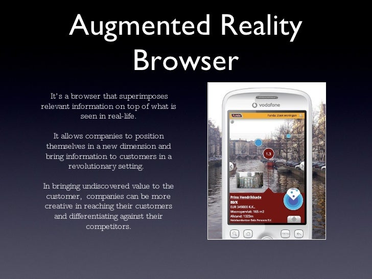 Augmented reality browser