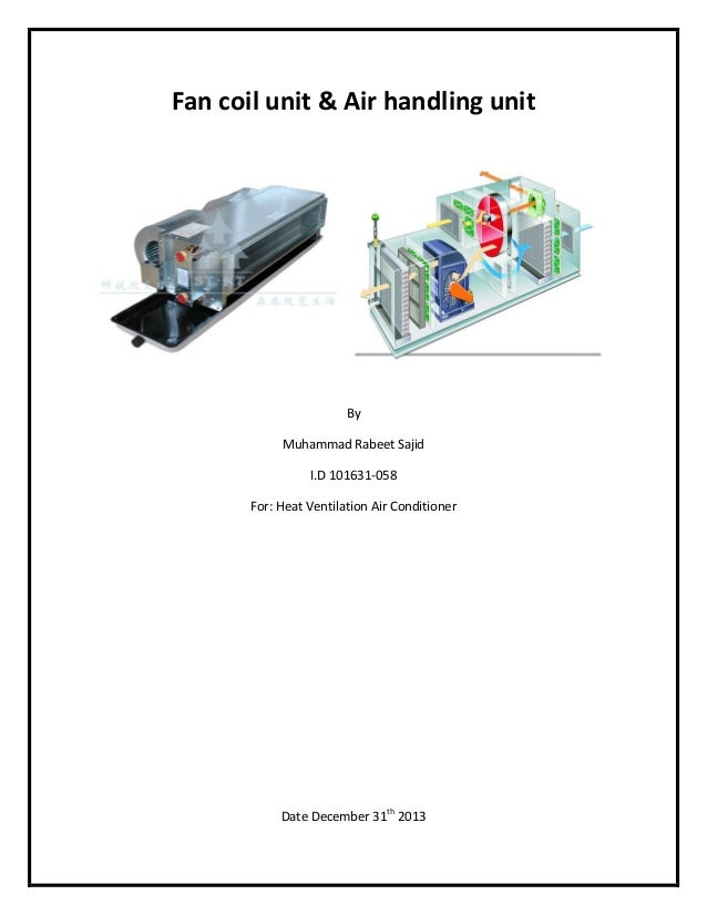 Carrier Fan Coil Units Catalogue Pdf Sante Blog
