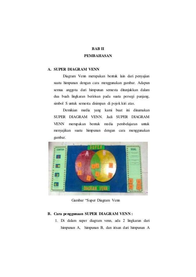 Makalah workshop media pembelajaran diagram venn pelajaran matematika 6 ccuart Images