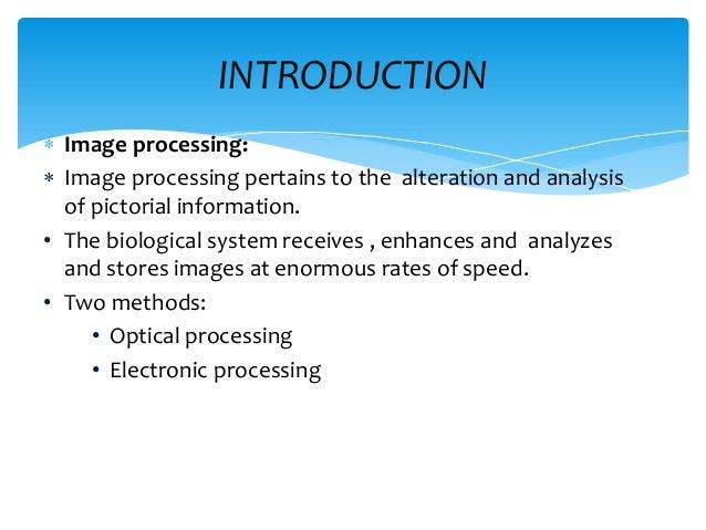 ppt on image processing Slide 2