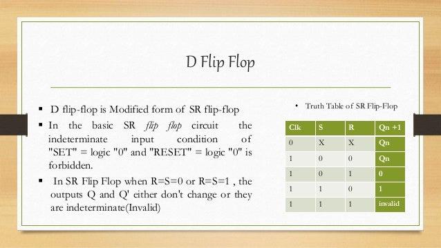 d flip flop