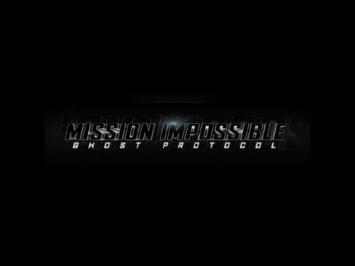 DISTRIBUTORThe distributor for Mission Impossible '4' is         Paramount Picture (US).