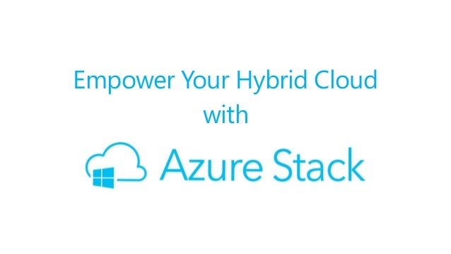 Empower Your Hybrid Cloud with