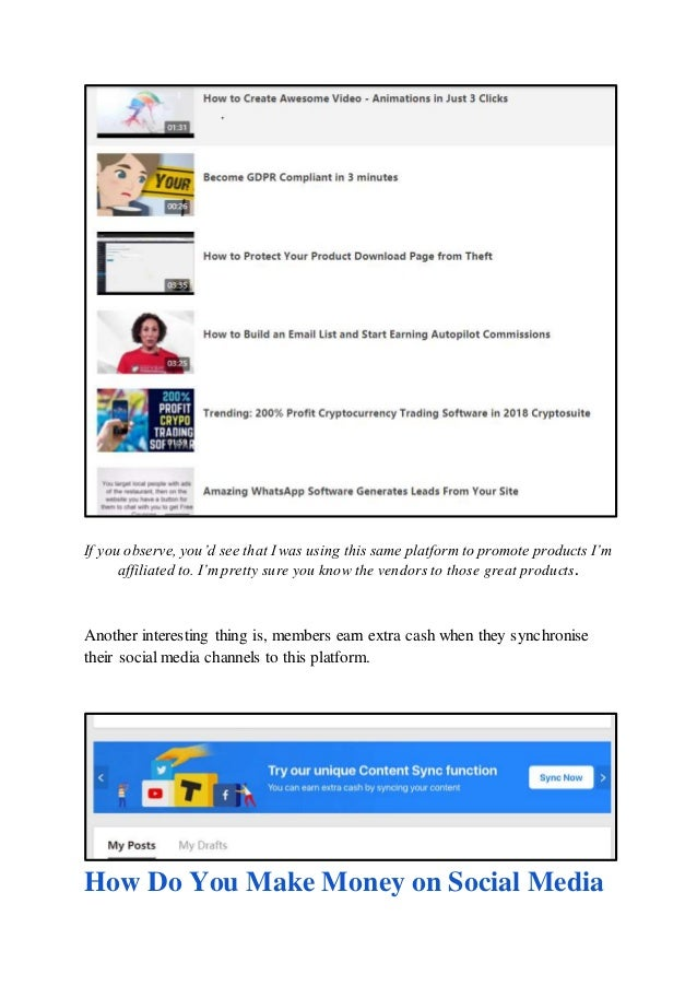 Upload2profit Review- Get Paid For Social Media Posts