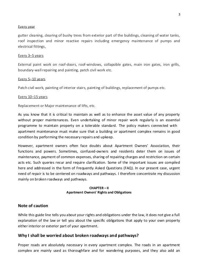 Upload Copy Of Compulsory Repairs And Maintenance