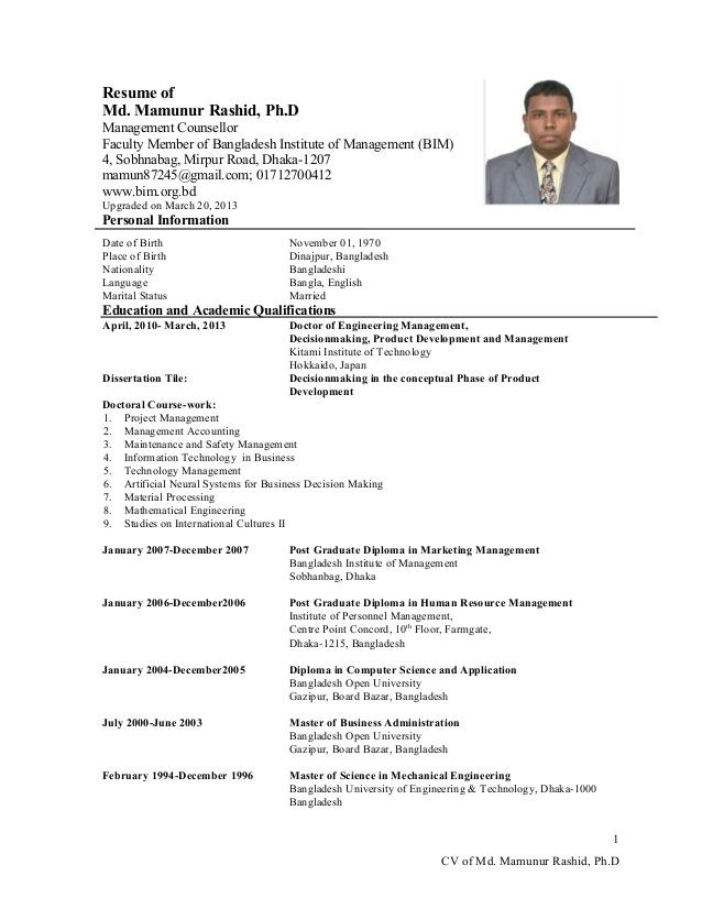 Curriculum Vitae Sample Medical Doctor Azwg Tk