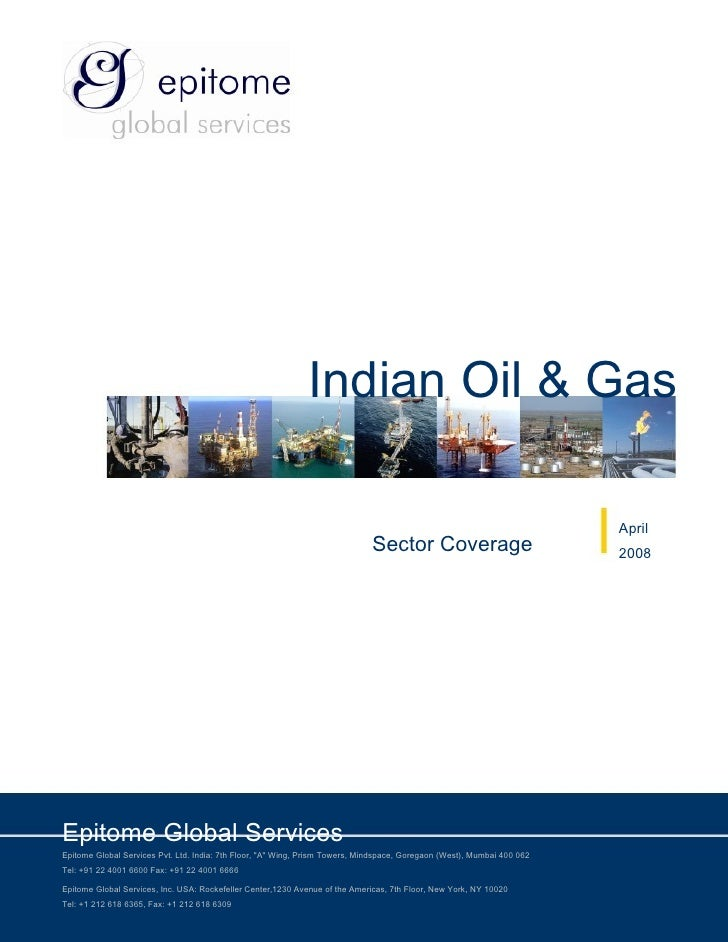 Indian Oil & Gas                                                                                                          ...