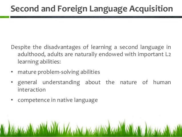 disadvantages of learning foreign language Has learning a second language become obsolete with public foreign language programs shutting down due to budget cuts, parents face the choice of pricey tutoring or their child staying monolingual check out the pros and cons here.