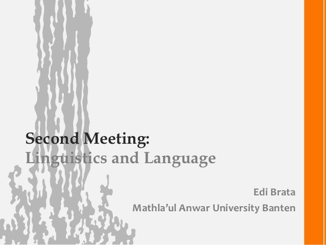 linguistics and language 2 essay Linguistics essay example  saussure does two things to develop his system for evaluating linguistics: he chooses language as his linguistic object and he only.