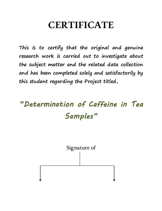 Investigatory project on guyabano tea