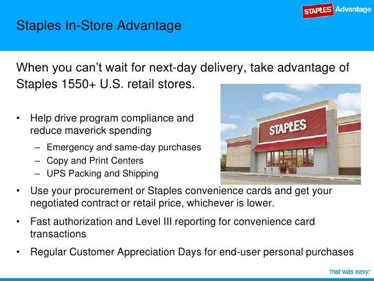 Staples business advantage staples reheart Gallery