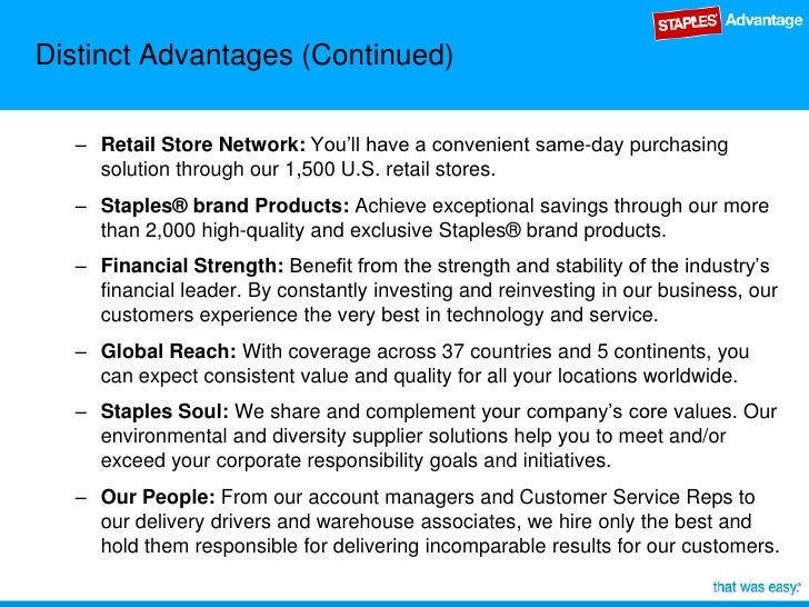 staples market structure I background staples inc founded in 1985 by thomas g stemberg and leo kahn in brighton, massachussets  office supplies and stationery stores d market structure.