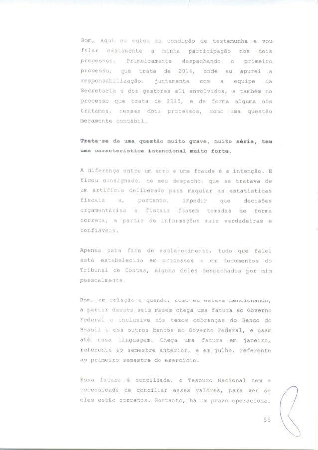 Alegações Finais Impeachment Dilma