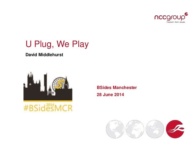 U Plug, We Play David Middlehurst BSides Manchester 28 June 2014