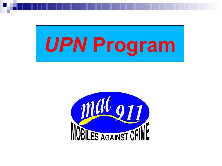 UPN  Program