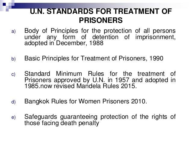 standard minimum rules for the treatment of prisoners pdf