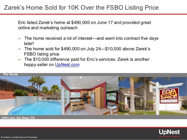 home sold by owner