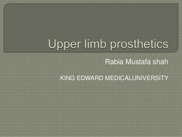 Rabia Mustafa shah KING EDWARD MEDICALUNIVERSITY