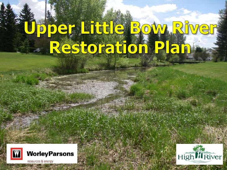 1. Upper Little Bow Restoration   Plan Purpose & Objectives2. Study Area and Reach   Descriptions3. Restoration Plan Scope...