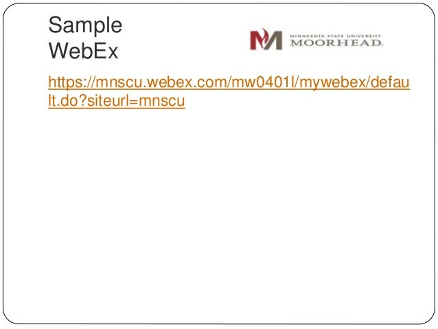 how to use webex youtube
