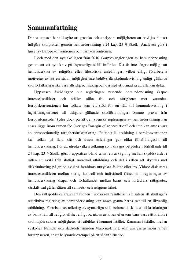 abstract uppsats exempel