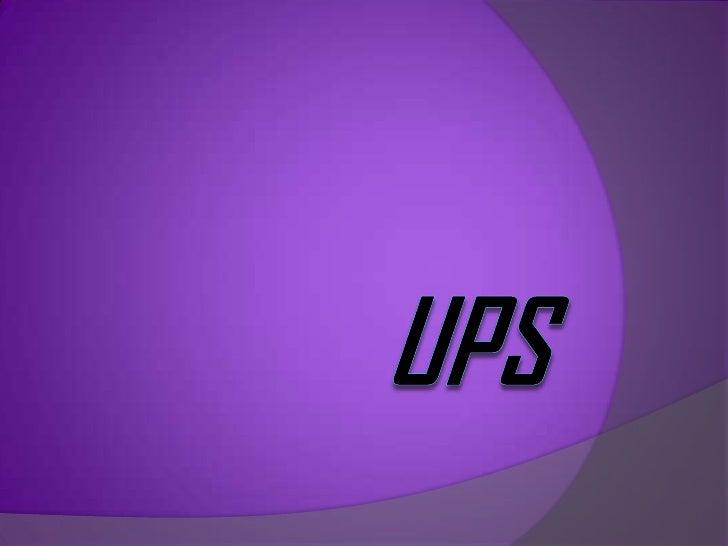 UPS<br />
