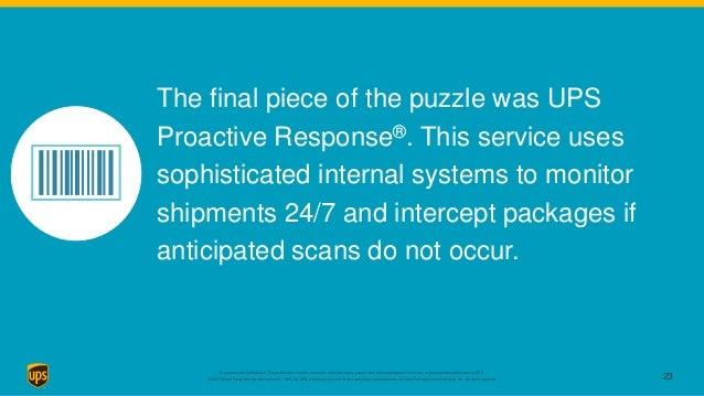 UPS - Delivering the future of medicine